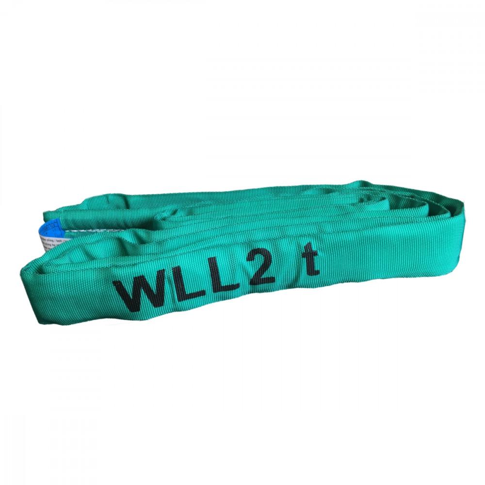Polyester-Rundschlinge EN 1492-2, WLL 2 to